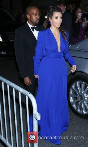 Kanye West, Kim Kardashian, The Angel Ball
