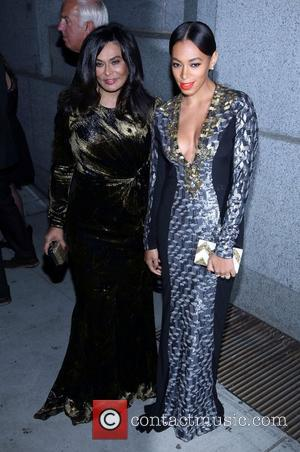 Tina Knowles and Solange Knowles The Angel Ball 2012 at Cirpiani Wall Street New York City, USA - 22.10.12