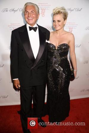 George Hamilton and Barbara Sturm The Angel Ball 2012 at CiprianiWall Street  New York City, USA - 22.10.12 Rob...