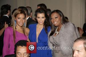 Angela Simmons, Kim Kardashian and Star Jones