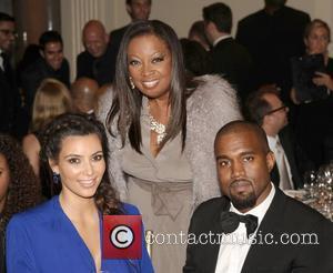 Kim Kardashian, Star Jones, Kanye West and The Angel Ball
