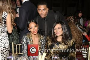 Nelly, Solange Knowles, Tina Knowles, The Angel Ball