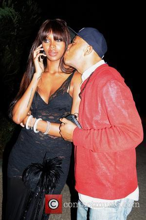 Jessica White and Russell Simmons