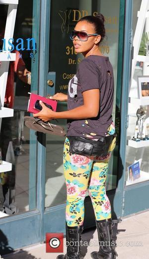 Angela Simmons out and about in Beverly Hills. Los Angeles, California - 27.08.12