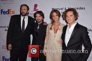 Juanes and David Bisbal