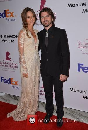 Karen Martinez and Juanes  The St. Jude Angels & Stars Gala at JW Marriott Miami, Florida - 19.05.12