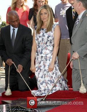 Jennifer Aniston Unveils Walk Of Fame Star