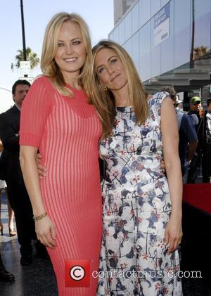 Malin Akerman, Jennifer Aniston and Star On The Hollywood Walk Of Fame
