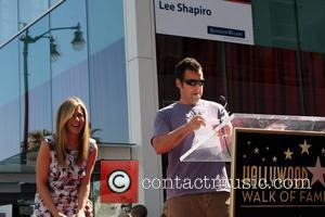 Jennifer Aniston, Adam Sandler and Star On The Hollywood Walk Of Fame