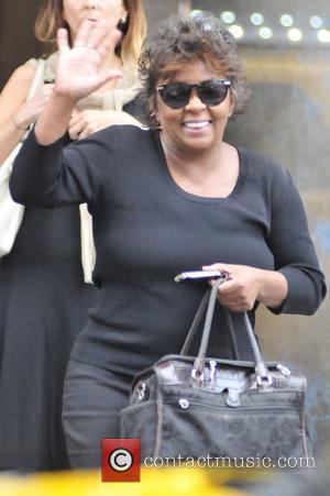 R&B singer Anita Baker leaving her downtown hotel in New York  New York City, USA - 01.08.12