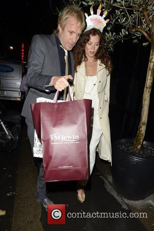 Groucho Club, Anna Friel, Rhys Ifans