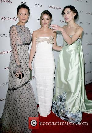 Alicia Vikander, Guro Schia and Keira Knightley