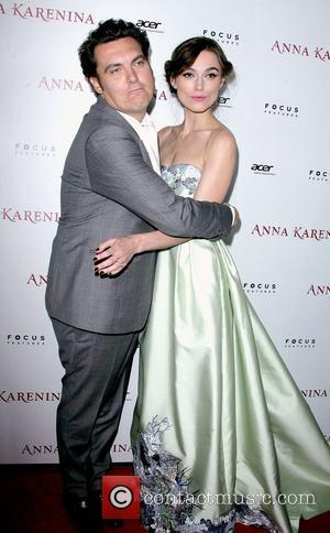 Director Joe Wright and Keira Knightley
