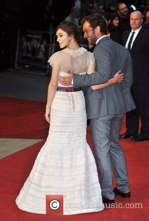 Keira Knightley, Jude Law and Odeon Leicester Square