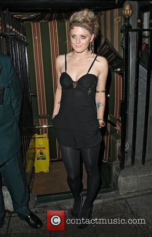 Bo Bruce,  arriving at Annabel's private members club in Mayfair. London, England - 02.10.12