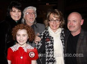 Shelly Burch, Martin Charnin, Lilla Crawford, Gabrielle Giffords, Mark E. Kelly and Palace Theatre