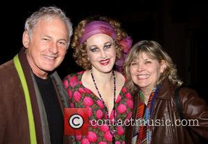 Victor Garber, Katie Finneran, Debra Monk and Palace Theatre