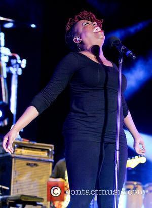 Ledisi  performs 7th Annual Jazz In The Gardens at Sunlife Stadium Miami, Florida - 17.03.12