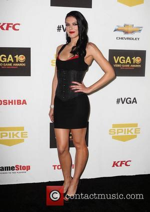 Adrianne Curry ,  at Spike TV's 10th annual Video Game Awards at Sony Studios in Culver City Los Angeles,...