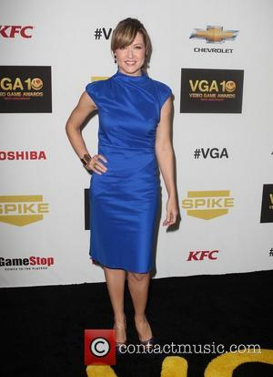 Ali Hillis,  at Spike TV's 10th annual Video Game Awards at Sony Studios in Culver City Los Angeles, California...