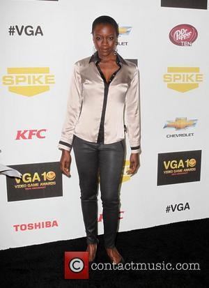 Danai Gurira,  at Spike TV's 10th annual Video Game Awards at Sony Studios in Culver City Los Angeles, California...