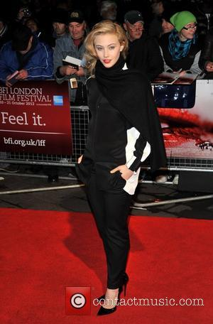 Sarah Gadon 56th BFI London Film Festival: Antiviral - official screening held at the Odeon West End, Arrivals. London, England...