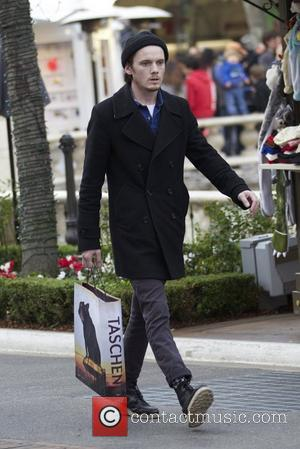 Anton Yelchin  seen out Christmas shopping at The Grove Los Angeles, California- 21.12.12