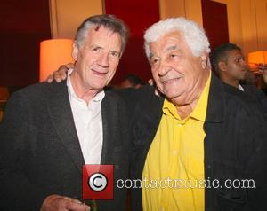 Michael Palin and Antonio Carluccio  Chef Antonio Carluccio hosts a party to celebrate the release of his new book...