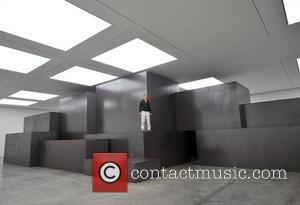 Enormous scale of Antony Gormley's 'Model' exhibit