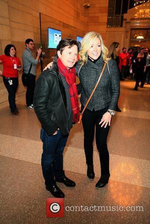 Michael J. Fox, Jane Krakowski Grand Opening of the Apple Store at Grand Central Station - Arrivals New York City,...