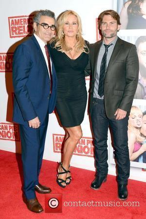Eugene Levy, Jennifer Coolidge and Seann William Scott