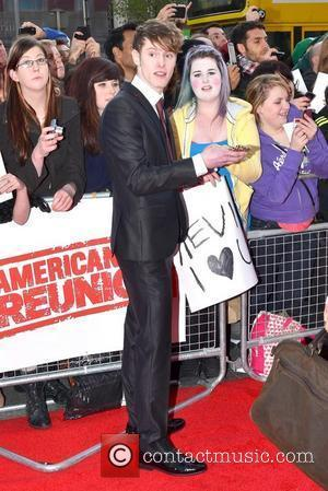 Kevin Grimes (Jedward's Brother) The Irish Premiere of 'American Reunion', The Savoy Cinema Dublin, Ireland - 18.04.12.