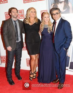 Seann William Scott, Eugene Levy, Jennifer Coolidge and Tara Reid