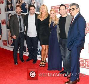 Seann William Scott, Eugene Levy, Hayden Schlossberg, Jennifer Coolidge, Jon Hurwitz and Tara Reid