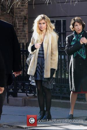 Imogen Poots Celebrities on the set of the new film 'Are We Officially Dating?'  Featuring: Imogen Poots Where: New...