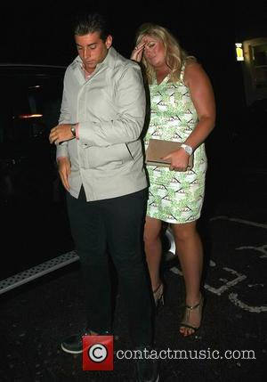 James Argent and girlfriend Gemma Collins from 'The Only Way is Essex' outside Faces nightclub  Essex, England - 07.07.12