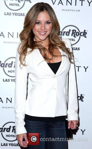 Brittney Palmer UFC Octagon Girl Arianny Celeste takes over the Hard Rock Hotel and Casino  Featuring: Brittney PalmerWhere: Las...