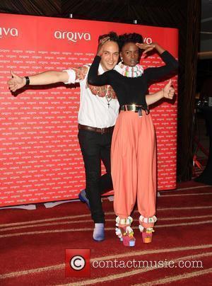 Shingai Shoniwa and Dan Smith of Noisettes Arqiva Commercial Radio Awards 2012 London, England - 04.07.12