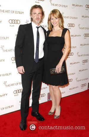 Sam Trammell, Missy Yager  2012 Art of Elysium Heaven Gala at Union Station - Arrivals Los Angeles, California -...