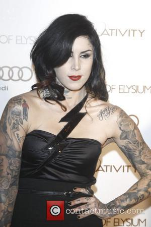 Kat Von D 2012 Art of Elysium Heaven Gala at Union Station - Arrivals  Los Angeles, California - 14.01.12
