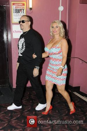 Ice-T and Coco Austin Film premiere of 'Something From Nothing: The Art of Rap' held at the HMV Apollo London,...