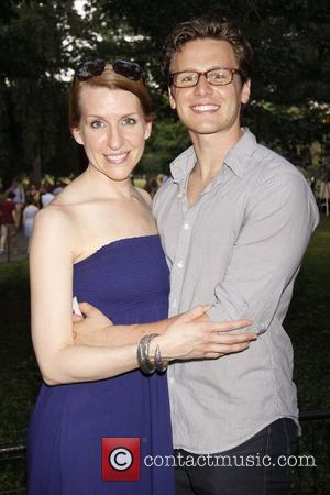 Jonathan Groff and Central Park