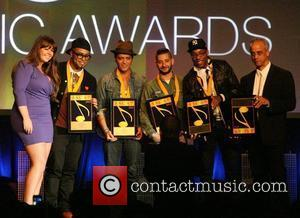 Bruno Mars 29th Annual ASCAP Pop Music Awards - Show held at Renaissance Hollywood Hotel Hollywood, California - 18.04.12
