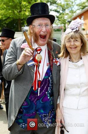John McCririck and Guest Royal Ascot at Ascot Racecourse - Day 1 Berkshire, England - 19.06.12