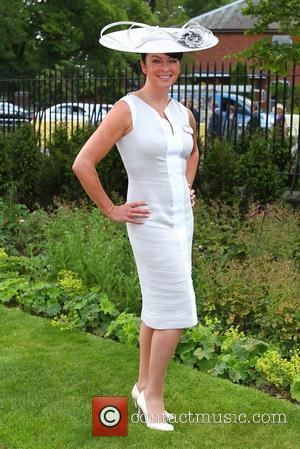 Suzi Perry Royal Ascot at Ascot Racecourse - Day 1 Berkshire, England - 19.06.12