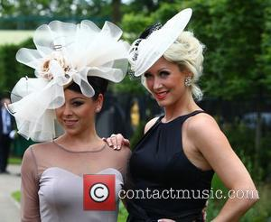 Lisa Scott-Lee and Claire Richards Royal Ascot at Ascot Racecourse - Day 2 Berkshire, England - 20.06.12