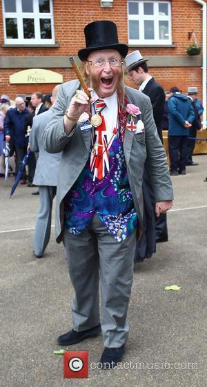 John McCririck Royal Ascot at Ascot Racecourse - Day 4 Berkshire, England - 22.06.12