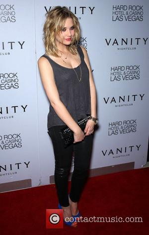 Ashley Benson and Hard Rock Hotel And Casino