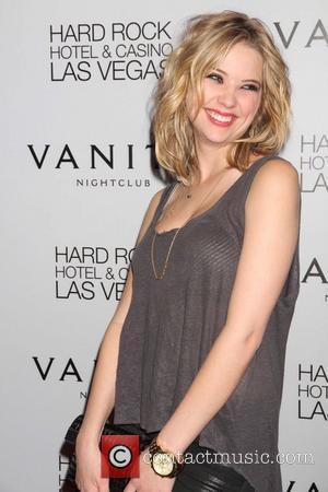 Ashley Benson celebrates her birthday at Vanity nightclub inside the Hard Rock Hotel and Casino  Las Vegas, Nevada -...