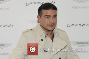 Tamer Hassan Aston Martin Vanquish launch party - Arrivals  London, England - 04.07.12